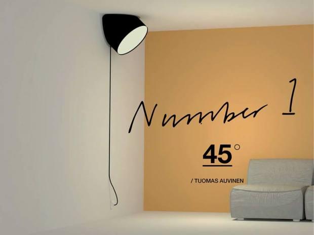 Tuomas Auvinen fra Finland vinder MTA 2013 med denne nytænkende lampe.