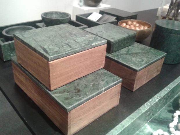 Nordstjerne grøn marmor